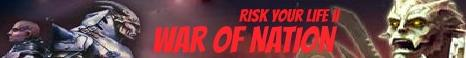 Risk Your Life 2 War Of Nation Banner